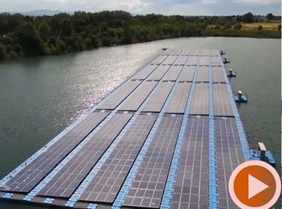 500 kWp floating pv system videos