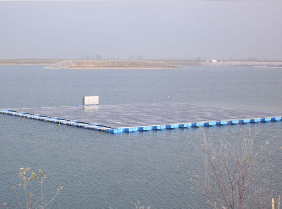 Floating PV Plant 100 kWp