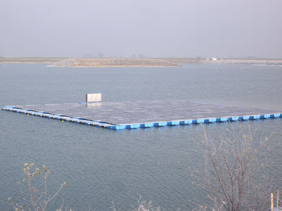 100 kWp Floating PV plant