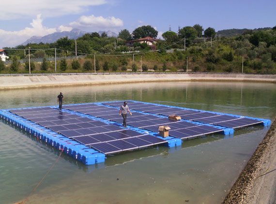 Photovoltaic Floating plant
