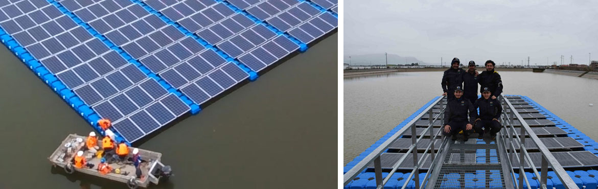 Floating Solar PV Plants