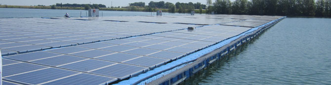 floating PV plants